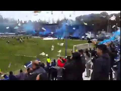 Recibimiento Lepra en el clasico vs Gimnasia - Los Caudillos Del Parque - Los Caudillos del Parque - Independiente Rivadavia
