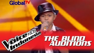 """Video Deven """"Beat It"""" I The Blind Auditions I The Voice Kids Indonesia GlobalTV 2016 MP3, 3GP, MP4, WEBM, AVI, FLV Agustus 2019"""