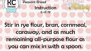 KC Peasant Bread YouTube video