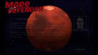 Mars Defender space adventure YouTube video