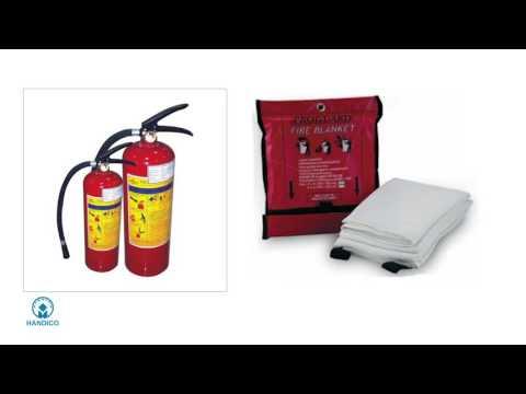 Cách sử dụng các phương tiện chữa cháy tại Handico Tower