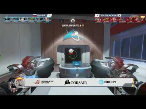 2016 鬥陣特攻世界賽 冠軍賽 韓國 vs 俄羅斯 Game4 灕江天塔