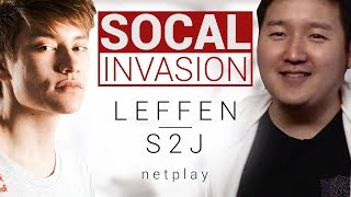 Socal Invasion: S2J – Leffen vs S2J Netplay