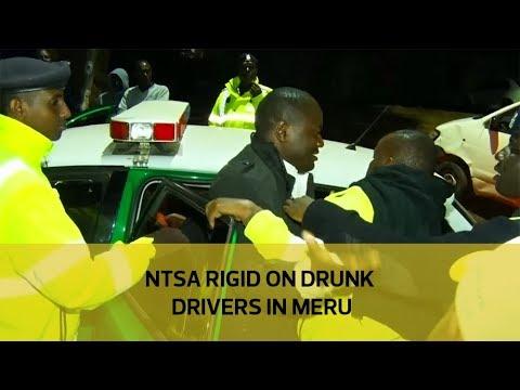 NTSA rigid on drunk drivers in Meru (видео)