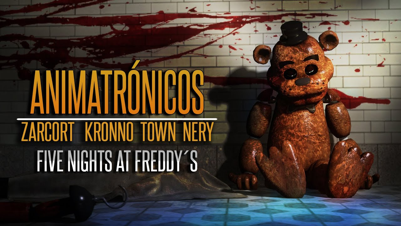ANIMATRÓNICOS RAP | Five Nights at Freddy's | ZARCORT-KRONNO-NERY-ITOWN – FNAF