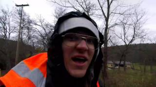 Breezewood (PA) United States  city images : Walking barefoot in the hail and snow to Breezewood Pennsylvania