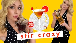 Spiraling Because Actress Katherine McNamara Drinks Whiskey and Wine TOGETHER 😱 | Stir Crazy | Co by Cosmopolitan