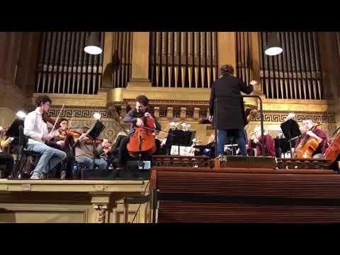 Behind the Scenes: NHSO rehearsal 3.20.18