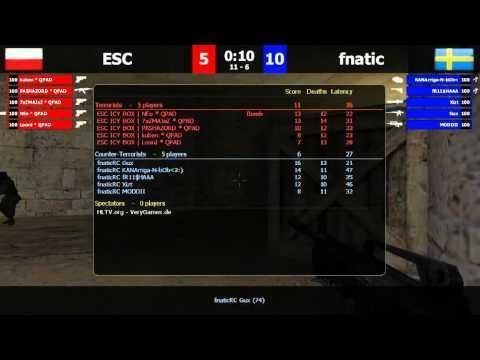 FCL Relegations: FnaticRC vs ESC de_dust2