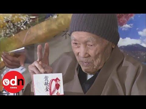 Video - Έφυγε από τη ζωή ο γηραιότερος άνδρας στον κόσμο - ΒΙΝΤΕΟ