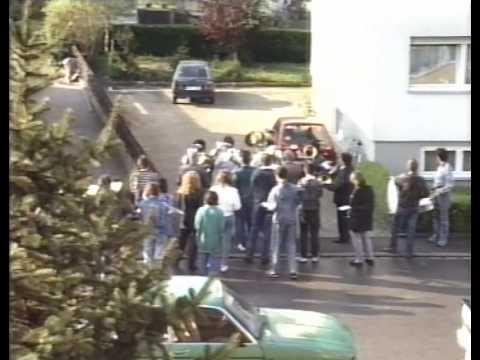 Musikverein Holzhausen am 1. Mai 1988
