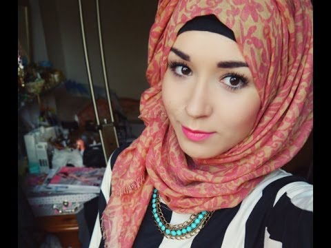 Hijab Tutorial l Everyday style (normal) & Twist back