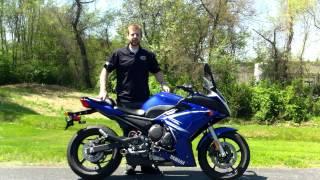 9. 2009 Yamaha FZ6R