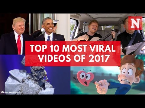 Top 10 Globally Trending YouTube Videos Of 2017