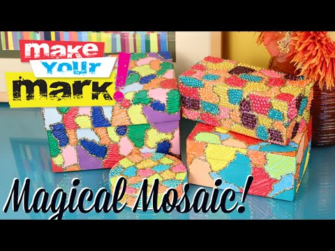 Magical Mosaic Boxes & Frames