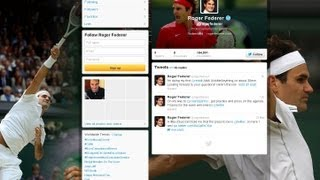Tennisnow.com Tennis Now's Blair Henley talks Federer's record-breaking Twitter debut and the Djokovic's tough French Open draw. Also, see photos from ...