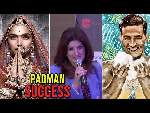 Twinkle Khanna On PadMan Success, Compares Padman