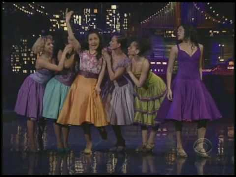 karen olivo - Karen Olivo and the cast of West Side Story perform