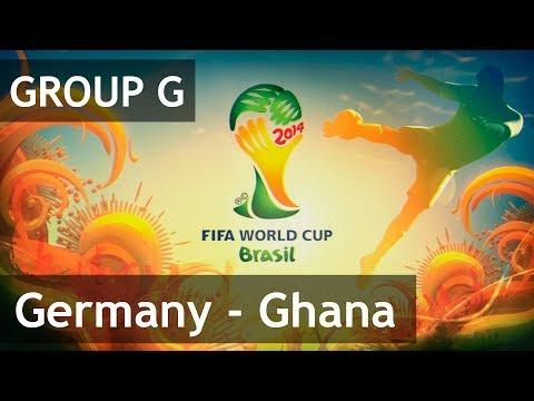 #29 Germany - Ghana (Group G) 2014 FIFA World Cup