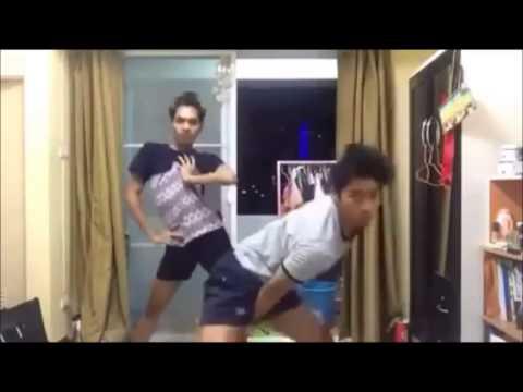 vũ điệu cồng chiêng phiên bản thanh niên Thái Lan
