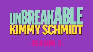 Score of season 3 of Unbreakable Kimmy Schmidt. These tracks were ripped from the credits sequences of season 3. Composed by Jeff Richmond.Tracklist:0:00 Kimmy Gets Divorced?!1:11 Kimmy's Roommate Lemonades!2:21 Kimmy Can't Help You!3:36 Boobs in California4:45 Kimmy Steps on a Crack!6:01 Kimmy is a Feminist! (Part 1)6:38 Kimmy is a Feminist! (Part 2)7:08 Kimmy Learns About the Weather!7:47 Kimmy Does a Puzzle!9:02 Elijah Rock (Choir)9:48 Elijah Rock (Instrumental)10:15 Kimmy Pulls Off a Heist!10:43 Kimmy Googles the Internet!11:23 Kimmy and the Trolley Problem!12:37 Kimmy Bites an Onion!