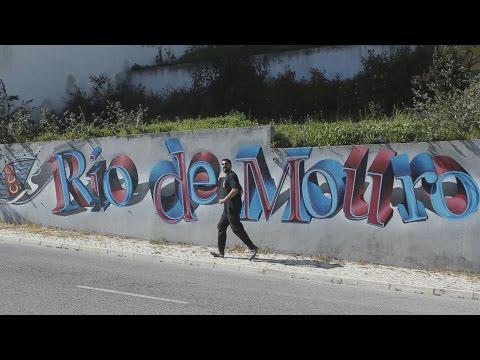 Parkour Rio de Mouro (видео)