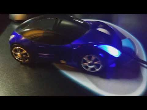 USB LED Car Mouse for Computers