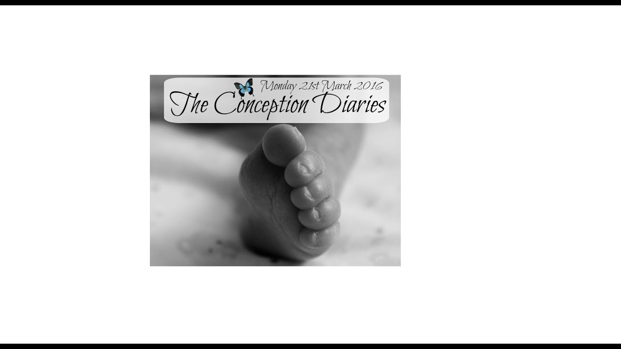 The Conception Diaries 21st March 2016