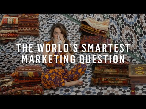 Watch 'The World's Smartest Marketing Question [video]'