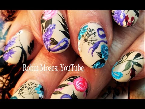 Nail art designs - Beautiful Spring Nails + Wisdom  Designer Flower Nail Art Design for beginners 2018