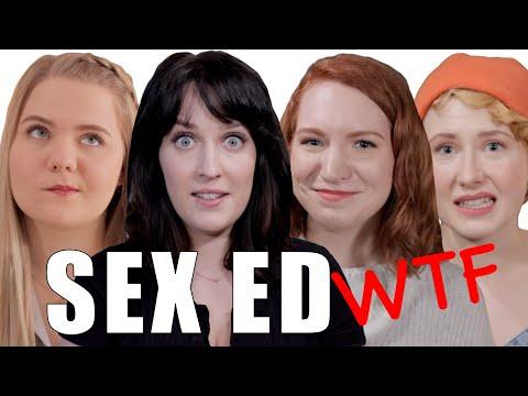Germans React to Weird Sex Class in America