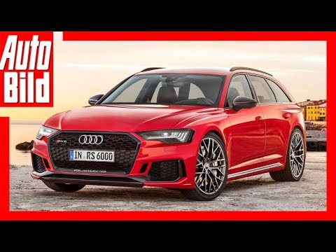 Audi RS 6 Avant - Zukunftsaussicht / PS-Kampf in de ...