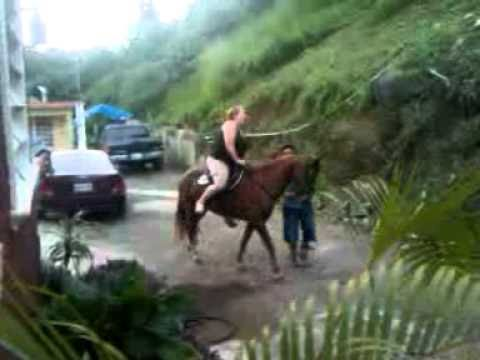 WORSE first Horseback riding of MY LIFE!!