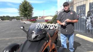 5. Pre-Owned 2011 Can-Am Spyder RS-S