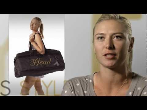 Maria Sharapova Head Tennis Racquet Maria Sharapova Head Bag