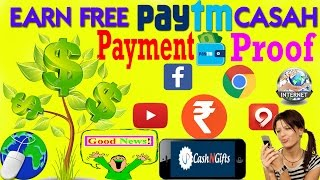 Earn Unlimited Free Paytm Cash CashNGifts App Loot:- Refer and Earn PayTm Cash,Gift Cards,Recharge Earn unlimited free PayTM cash with payment transfer proof...
