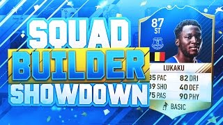 Video FIFA 17 SQUAD BUILDER SHOWDOWN!! - 87 RATED THIRD INFORM LUKAKU vs AJ3!! MP3, 3GP, MP4, WEBM, AVI, FLV Desember 2017