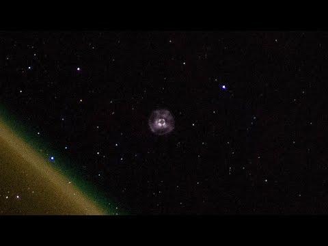 Видео запуска корабля Прогресс МС-10 с борта МКС