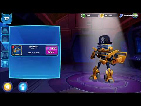 Angry Birds Transformers Chuck As Bumblebee Upgrade & Gameplay