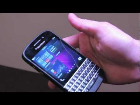 Hands on with the BlackBerry Q10 with Jeff Gadway from BlackBerry