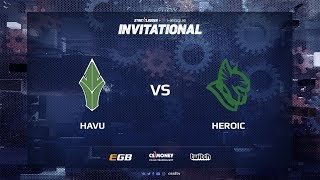 HAVU vs Heroic, map 1 nuke, SL i-League Invitational Shanghai 2017 EU Qualifier