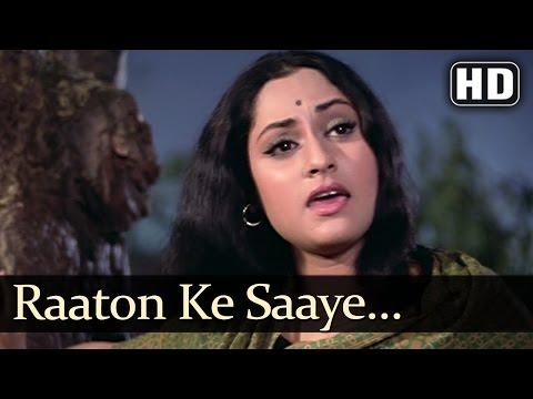 Raaton Ke Saaye - Jaya Bhadhuri - Annadata - Lata Mangeshkar - Sali Chowdhary - Hindi Song