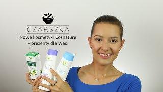 Wielce ekscytujący jest dzisiejszy odcinek, bo mam przyjemność pokazać Wam mnóstwo nowych, naturalnych kosmetyków i do tego prezenty do rozdania :DNieważne, że leje - ważne, że humor dopisuje :)Dziękuję biobeauty.pl za pomoc w realizacji tego odcinka :)___Sklep z moimi balsamami myjącymi: http://czarszka.pl/Balsamy wracają w sobotę, 1 lipca ;)___Zasady: 1. Konkurs tylko dla subskrybentów mojego kanału, więc subskrybuj czym prędzej ;) Tym razem wygrywa 10 osób!Nagrody wybierzecie sami, spośród całej puli nowości Cosnature, które Wam dzisiaj pokazałam!Będzie nam bardzo miło, jeśli polubicie biobeauty.pl na FB:https://www.facebook.com/kosmetyki.organiczne/2. Aby wziąć udział w konkursie zostaw łapkę w górę i komentarz pod tym filmem. W komentarzu napisz, który kosmetyk z tego odcinka najbardziej Cię interesuje - postaram się w oparciu o Wasze komentarze otwierać kolejne pudełka, żeby potem dać znać, jakie wrażenia ;)3. Rozdanie trwa od piątku 30 czerwca 2017 do wtorku 4 lipca 2017 do godziny 20:00. Wyniki pojawią się - jak zawsze - dzień po zakończeniu konkursu na moim FB:https://www.facebook.com/czarszka (nie trzeba mieć konta na FB, żeby kliknąć w powyższy link i zobaczyć, czy są wyniki).4. Osoby niepełnoletnie muszą poprosić rodziców o zgodę na wzięcie udziału w rozdaniu, bo będę prosiła o podanie danych osobowych, które z kolei przekażę BioBeauty.pl, żeby mogli wysłać do Was nagrody ;)Powodzenia!P.____Lista produktów:krem do twarzy z solanką i rumiankiem: http://bit.ly/2s8LKryżel 2w1 do mycia twarzy i ciała z solanką i rumiankiem: http://bit.ly/2tr8syWbalsam do ciała z solanką i rumiankiem: http://bit.ly/2uqwO8Skrem do rąk z solanką i rumiankiem: http://bit.ly/2trEJ98balsam do ciała z lilią wodną: http://bit.ly/2uqibT6energetyzujący żel pod prysznic z limonką i miętą: maseczka z różowym pomelo: http://bit.ly/2twLpTQkrem na dzień Detox: http://bit.ly/2t7ArROkrem na noc Detox: http://bit.ly/2sXDOMAodżywka do włosów z granatem na objętość: http://bit.ly/2u5tQr7odżywka