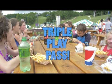 The Triple Play at Bromley, Vermont's Summer Adventure!