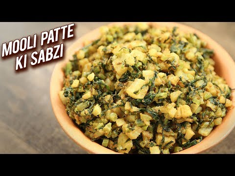 Mooli Patte Ki Sabzi | Radish Greens Recipe | Healthy Winter Mooli Ki Sabzi | Ruchi