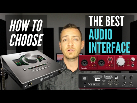 How To Choose The Best Audio Interface For Your Home Studio - TheRecordingRevolution.com