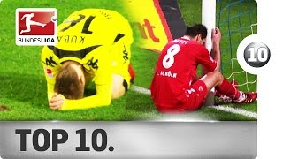 Top 10 Open Goal Misses of All Time - Embarrassing Fails