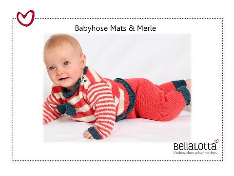Babyhose einfach stricken – mit BellaLotta