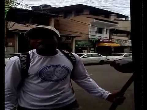 COLÉGIO ESTADUAL GENERAL DIONÍSIO CERQUEIRA EM AÇÃO  PROJETO TERRITÓRIOS SANTA CRUZ NOSSA CASA.