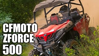 1. TEST RIDE: CFMOTO ZFORCE 500